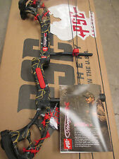 "NEW PSE STINGER X SKULLWORKS CAMO 50# BOW 21-30"" RH RED BARB WIRE KIT"