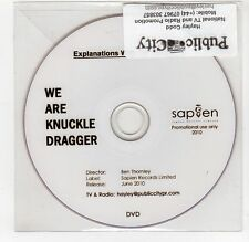 (GI380) We Are Knuckle Dragger, Explanations With Connotations - 2010 DJ DVD