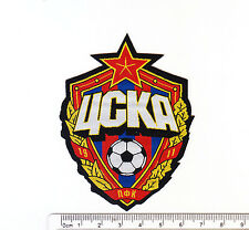 kiTki PFC CSKA Moscow russian soccer football team iron-on embroidered patch