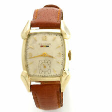 Vintage 17-Jewel Manual Wind  Yellow Gold-Filled Benrus Wrist Watch CA1950s