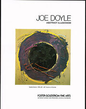 1979 Vintage Foster Goldstrom - Joe Doyle Gandy Dancer Art Print AD