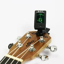 Acoustic Electric Clip-On Guitar Tuner Digital Chromatic Bass Violin Ukulele E72