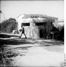 """German Army Soldiers Bunker Italy 1944 World War 2 Reprint Photo 4x4"""""""