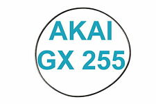 SET BELTS AKAI GX 255 REEL TO REEL EXTRA STRONG FACTORY FRESH GX255 HIGH QUALITY