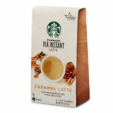 Starbucks Via Caffe Caramel Latte Specialty Coffee Beverage 5.6 oz