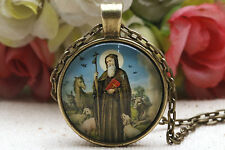 Retro Fashion Pendant Necklace Jewelry, Necklace missionary Religious Necklace