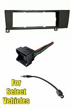 BMW 1 and 3 Series Single Din Stereo Radio Install Dash Mount Car Kit Combo