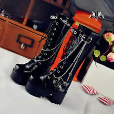1/4 BJD leather shoes MSD Dollfie DREAM cross PUNK Boots EID LUTS AOD DOD MID DZ