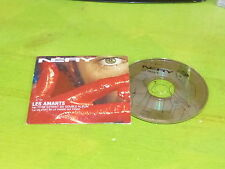 NERY - LES AMANTS - MATHIEU CHEDID !!!!!!!!!!!!!!! RARE FRENCH PROMO CD!!!