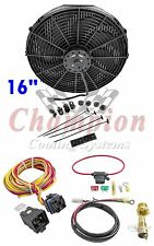 "Fan & Relay Kit 16 "" Electric Champion Cooling Systems CA"