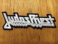 New Judas Priest Sew On Patch Iron Embroidered Rock Band Logo Heavy Metal Music