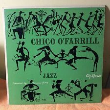 "CHICO O'FARRILL-""Jazz""-10"" vinyl-1953 Clef records-super rare!"