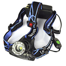 5000Lm XML T6 LED 2X18650 Angeln Headlamp Zoomable Stirnlampe Taschenlampe Licht