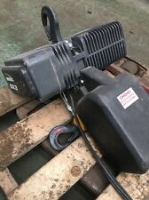 Morris Sx3 Electric Chain Hoist 1 Ton Crane 6M Height Lift Delivery Available