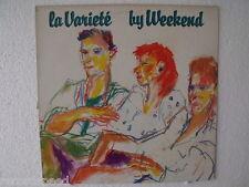 """★★ 12"""" LP - WEEKEND - La Varieté - Rough Trade RTD 3"""
