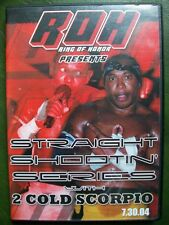 ROH Ring of Honor Straight Shootin Series 2 Cold Scorpio Flash Funk DVD ECW WWE