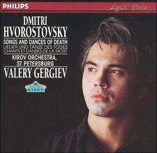 Dmitri Hvorostovsky - Songs and Dances of Death Audio CD LNC