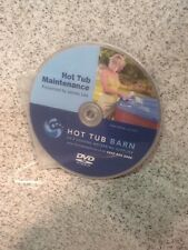 HOT TUB SPAS HOW TO CARE MAINTENANCE CHEMICALS BALANCE CHLORINE PH TESTING DVD