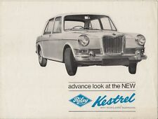 Riley Kestrel 1100 Mk1 1965 UK Market Preview Sales Brochure