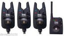 NEW DAIWA SUNDRIDGE WIRELESS G1 RADIO OPTONIC BITE ALARMS SET OF 3!