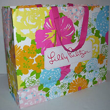 Lilly Pulitizer - Large Gift Storage Tote Bag Shopper 16 x 13 x 5