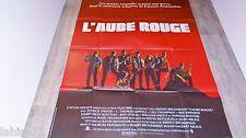 L'AUBE ROUGE   !  affiche cinema