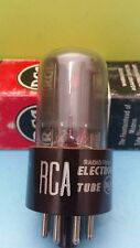 1 RARE Brown Base  RCA 12SN7 GT  Vacuum Tubes Tested Good on Calibrated Hickok