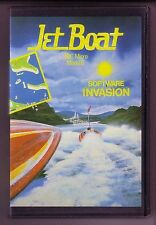 Jet Boat (Software Invasion 1984) BBC Micro Game - Clamshell - VGC & Complete