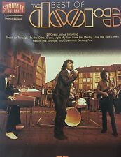 """""""The Best Of The Doors""""   Strum-it guitar with chords & notes (no tab)"""