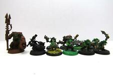Warhammer 40k Space Orks Ork Gretchin Mob With Runtherd Part Metal (w3109)