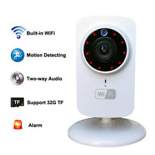 Mini IP Wifi SD CCTV Wireless Camera Audio CAM Baby Monitor For iPhone Galaxy S7