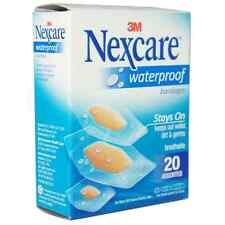 Nexcare Waterproof Clear Bandages Assorted 20 Each