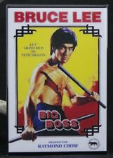 "Big Boss Movie Poster 2"" x 3"" Fridge / Locker Magnet. Bruce Lee"