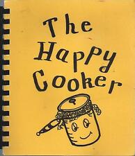 MOLINE IL 1974 VINTAGE HAPPY COOKER *ETHNIC COOK BOOK *PUBLIC HOSPITAL AUXILIARY