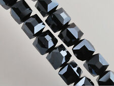 10Pcs Cube Square Glass Crystal Beads For Necklace&Bracelet Findings 10mm