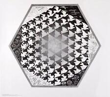 MC Escher Verbum Poster Kunstdruck Bild 55x65cm