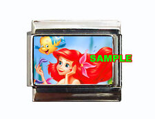 Ariel Little Mermaid Custom Italian Charm Disney Flounder