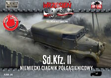 First to Fight 1/72 Sd.Kfz.11 - German Half-Track Tractor # 041
