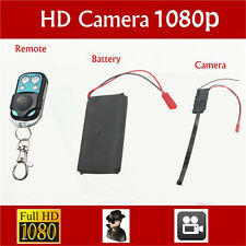 HD DIY Module SPY Hidden Camera Video MINI DV DVR Motion Remote Control 1080P