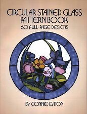 Circular Stained Glass Pattern Book, 60 Designs, Round Panels, Dover