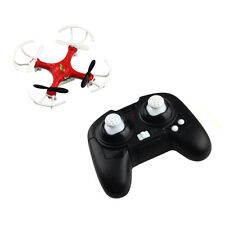 2.4GHz 4CH 6 Axis Gyro LED Mini UFO Drone RC Quadcopter Helicopter 3D Fly Red