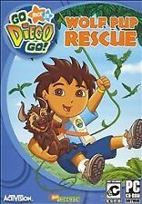 Go, Diego, Go Wolf Pup Rescue (PC, 2006) Brand New Fast Shipping!