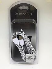 Xavier USB 3.0 Braided USB 3.0 type A male to Micro B male – 6 Feet s5 charger