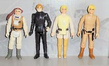 Vintage Star Wars Luke Skywalker Figure Lot Hoth Farmboy Bespin & Jedi Knight