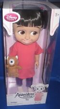 "DISNEY PIXAR MONSTERS INC. ANIMATORS DESIGNER TODDLER  ""BOO"" COLLECTOR DOLL"
