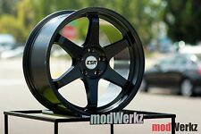 18x9.5 18x10.5 Inch +22 ESR SR07 5x120 Black Wheels Rims E36 E46 E90 E92 E60 M3