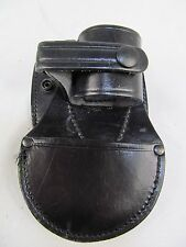 PWL Price Western Leather Hiatt TCH Black Speedcuff Rigid Handcuff Carrier Pouch