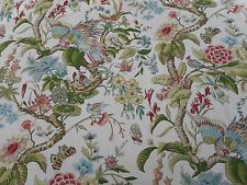 Schumacher Curtain Fabric 'CRANLEY GARDENS' 4.1 METRES Document - 100% Cotton