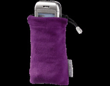 Hama Mobile iPhone Super Bag Protection Cleaning Cover Purple Holder