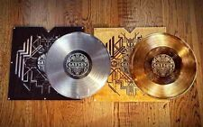 "THIRD MAN RECORDS ""The great Gatsby"" 2 VINYL GOLD + PLATINUM EXTREM RARE"